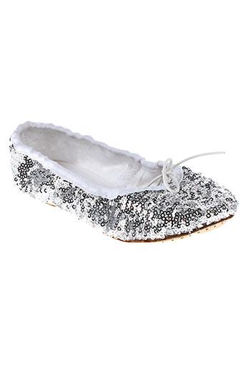elisabeth puig chaussures fille de couleur gris