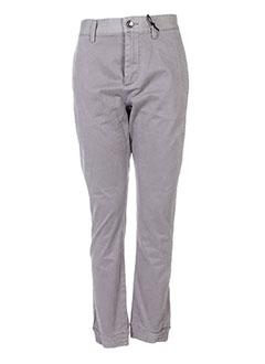 Pantalon casual gris DIESEL pour fille