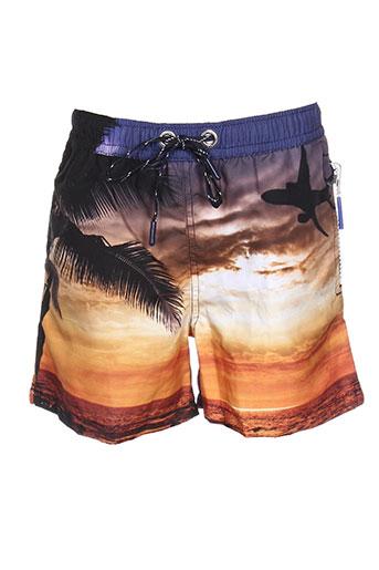 sweet pants maillots de bain garçon de couleur orange