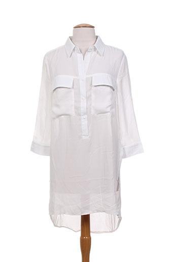 mismash tuniques femme de couleur blanc