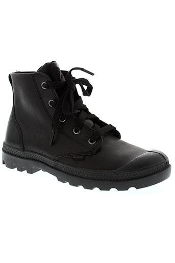 palladium boots femme de couleur noir