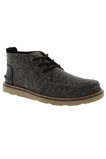 toms boots homme de couleur gris
