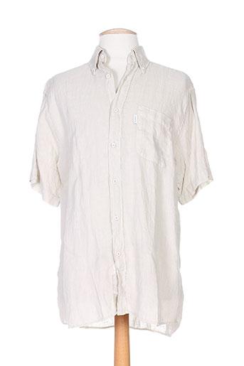 jezequel chemises homme de couleur beige
