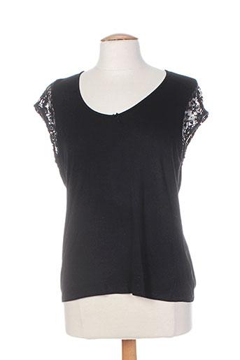 poupee chic chemises femme de couleur noir