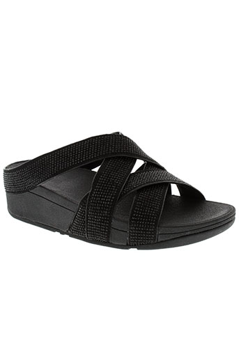 fitflop chaussures femme de couleur noir