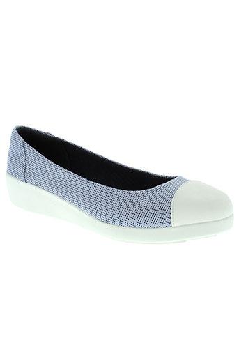 fitflop chaussures femme de couleur bleu