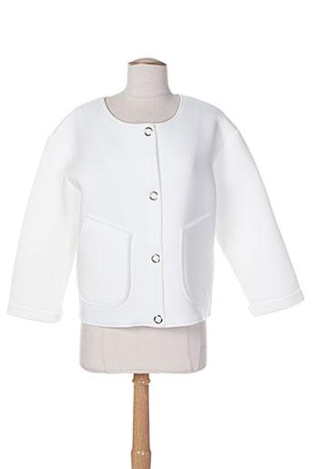 kimi EFFI_CHAR_1 co vestes femme de couleur blanc