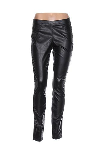 pieces pantalons et decontractes femme de couleur noir