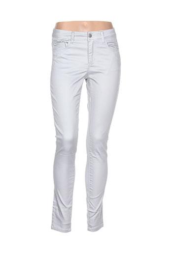 pieces pantalons et decontractes femme de couleur gris