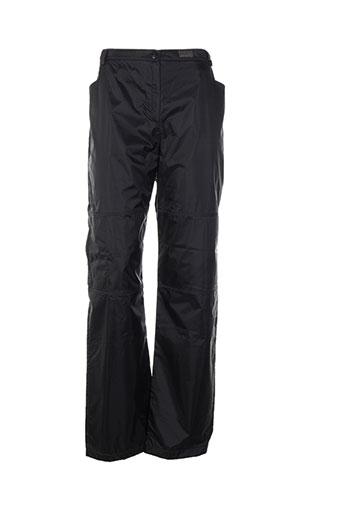 chrismas's pantalons femme de couleur noir