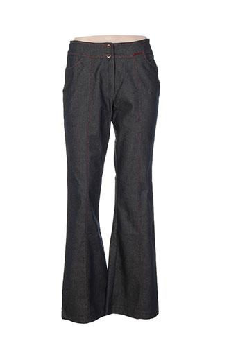 Pantalon casual noir CHRISMAS'S pour femme