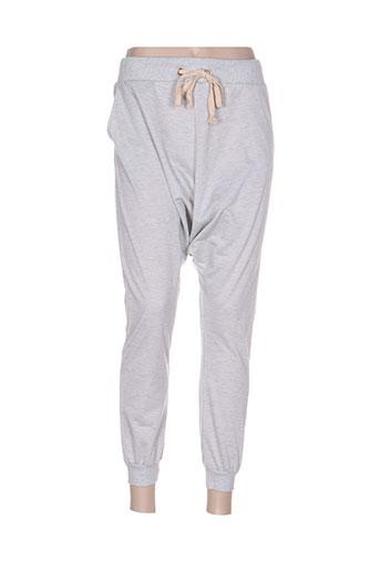 noémie EFFI_CHAR_1 co pantalons femme de couleur gris
