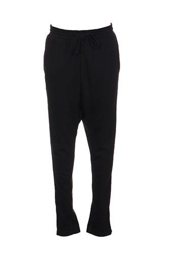 place du jour pantalons homme de couleur noir