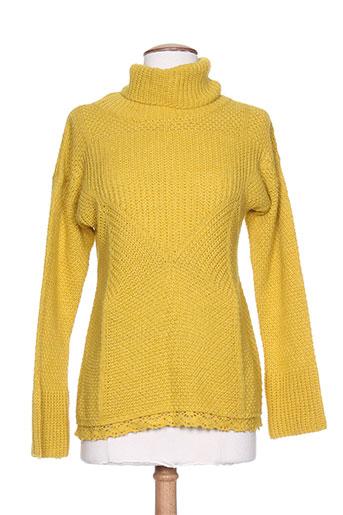 forza nove pulls femme de couleur jaune