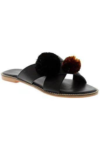 lollipops chaussures femme de couleur noir
