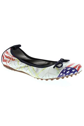 mally chaussures femme de couleur bleu
