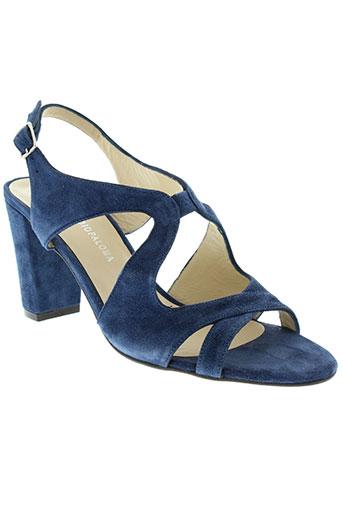 studio paloma chaussures femme de couleur bleu