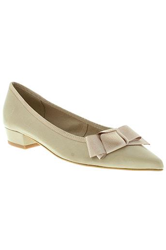 studio paloma chaussures femme de couleur beige