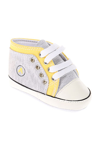 absorba chaussures garçon de couleur gris