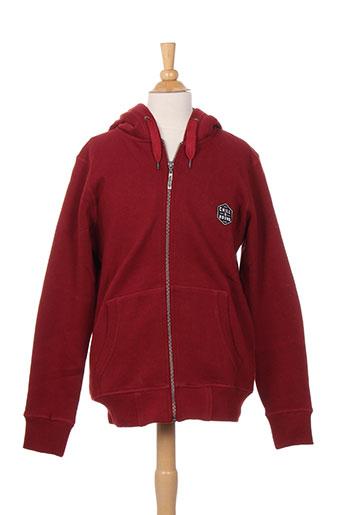 chillaround vestes garçon de couleur rouge