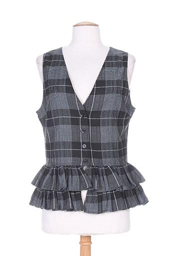 lino factory chemises femme de couleur noir