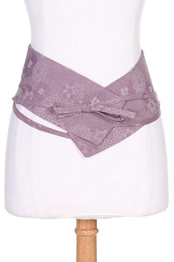 lino factory accessoires femme de couleur rose