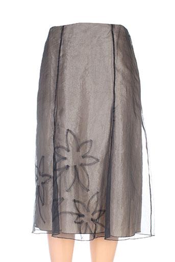 linea raffaelli jupes femme de couleur noir