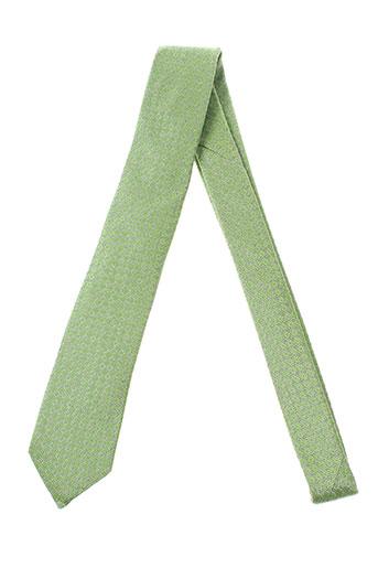 strellson cravates homme de couleur vert