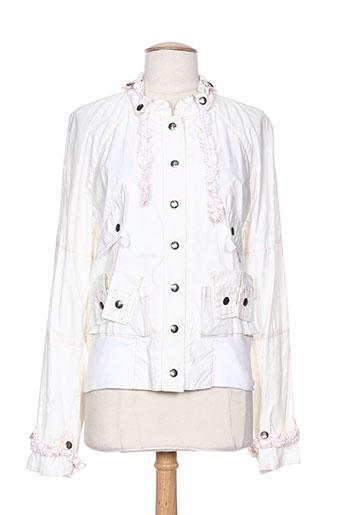 kas manteaux femme de couleur blanc
