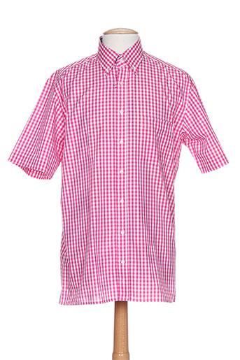 eterna chemises homme de couleur rose