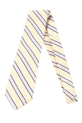 paolo da ponte accessoires homme de couleur jaune