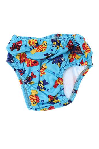 floaties maillots de bain garçon de couleur bleu