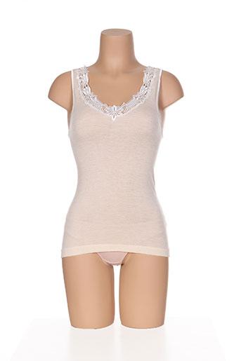 ghiro lingerie femme de couleur beige