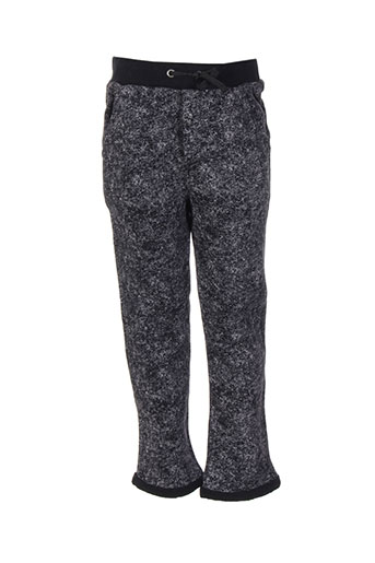 ikks pantalons garçon de couleur gris