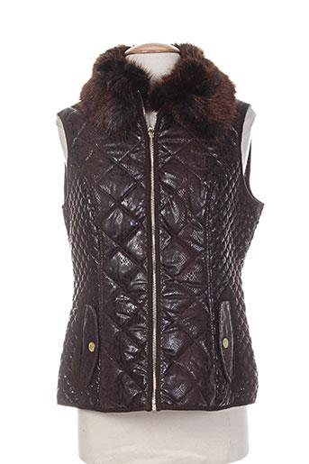 bearwood manteaux femme de couleur marron