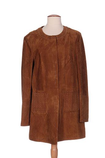basler manteaux femme de couleur marron