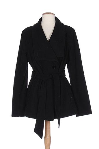 mexx manteaux femme de couleur noir