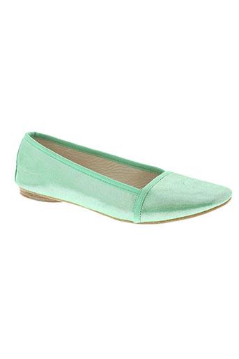 nikiya chaussures femme de couleur vert