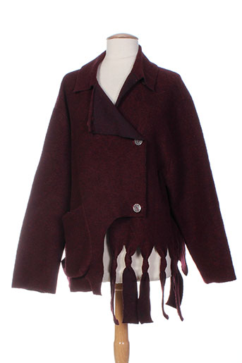 cannisse vestes femme de couleur violet