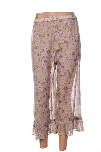 jayko pantacourts femme de couleur violet