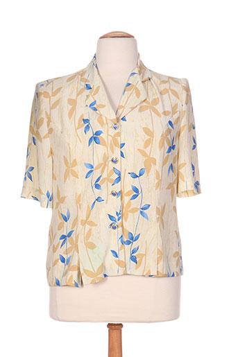 coutureine chemises femme de couleur beige