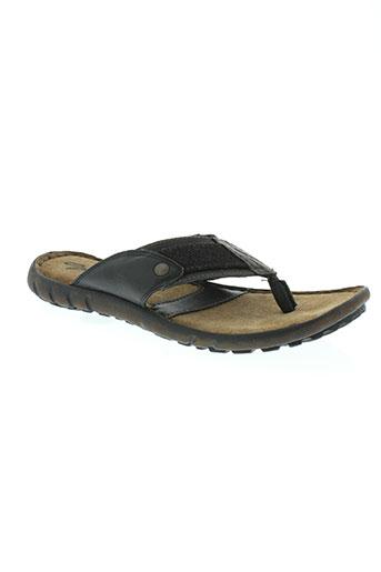 gextop chaussures homme de couleur noir