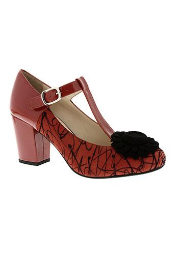 sacha london chaussures femme de couleur orange
