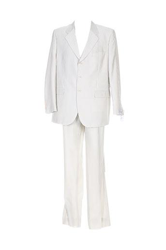 Costume de ville beige GUY LAURENT pour homme