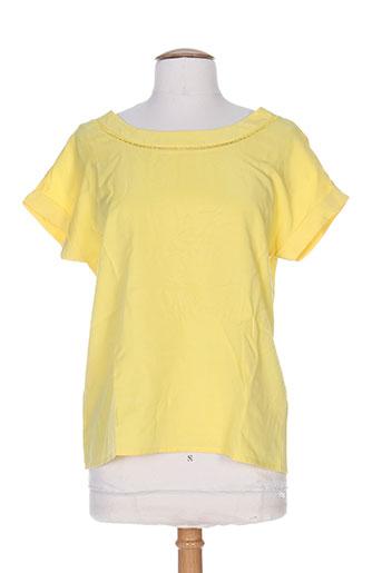 Top jaune VILA pour femme