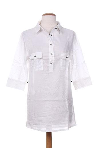 Tunique manches longues blanc RWD pour fille