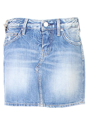 cerise little jupes fille de couleur bleu
