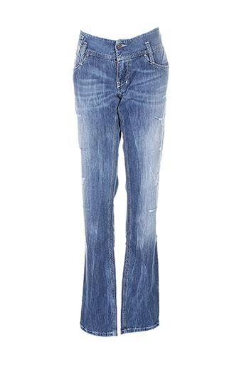 Jeans coupe droite bleu DIESEL pour fille