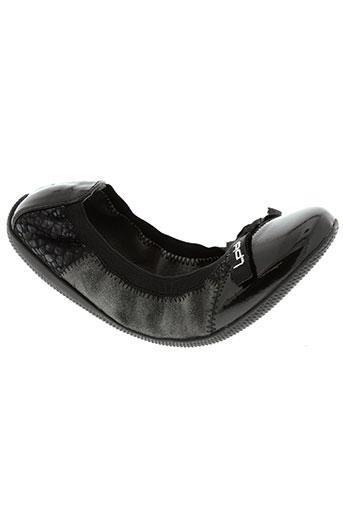 les p'tites bombes chaussures fille de couleur noir