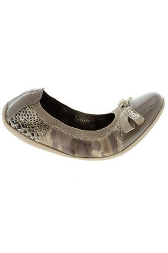 les p'tites bombes chaussures fille de couleur beige